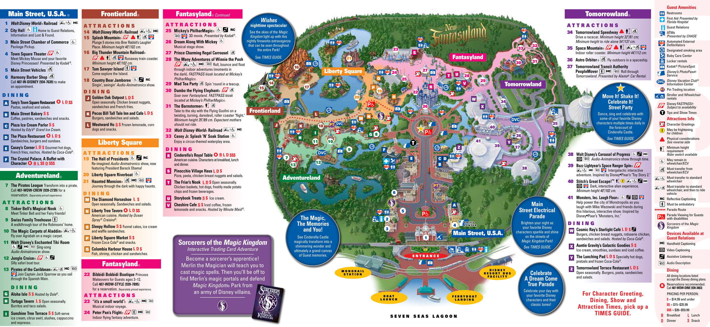 disney world magic kingdom map printable Car Tuning